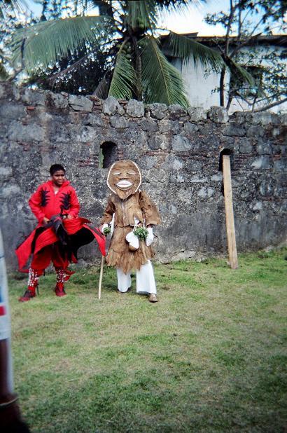 The Celebration of the Diablitos and Congos in Porto Belo, Colon.