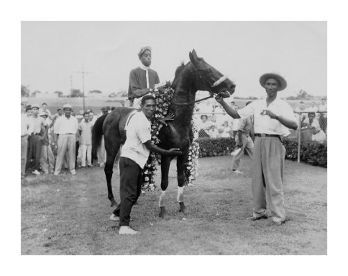 "Roberto ""Bobby"" Reid and Henry ""Takeaway"" White (trainer)."