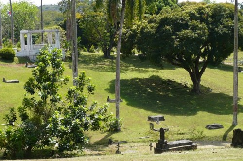 This is a Panoramic photo taken at Corozal Cemetery, Panama.