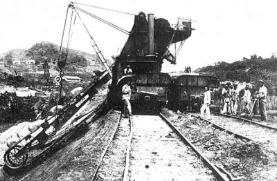 This photo is of a derailment at Bas Obispo in 1886- the French Railroad days. Note the Jamaican workers - See more at: http://thesilverpeoplechronicle.com/2007/02/jamaican-workers-on-american.html#sthash.hj31A3gz.dpuf