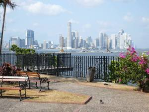 Panama skyline from San Felipe.