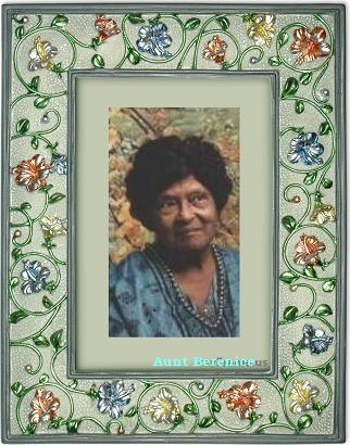 My beloved Auntie Berenice Charles, 1912-2005