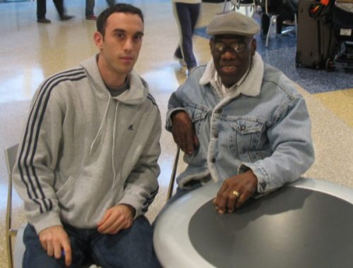 Nick Diunte and Clyde Parris spending some time together back in 2007. Image thanks to Nick Diunte.